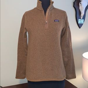 Patagonia woman's Better Sweater 1/4-zip fleece